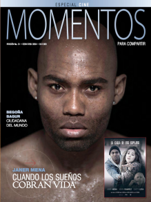 Janer Mena - Portada Revista Momentos